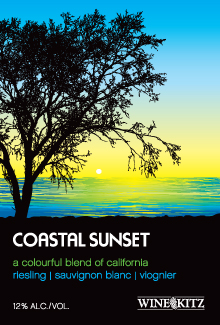 Limited Release Coastal Sunset - California Riesling, Sauvignon      Blanc and Viognier