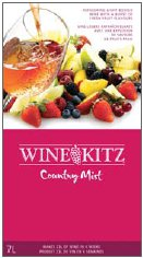 Wine Kitz is proud to re-introduce our new and improved Country   Mist collection of light-bodied wines with bursts of fresh fruit   flavours.  A fresh new look, new improved flavours and 2 refreshing new   styles: Pineapple / Mango Pinot Grigio and Citrus Sauvignon Blanc.   Make  sure you visit your local Wine Kitz Wine Specialist and have your   Country Mist ready to be enjoyed for all your Summer entertaining.