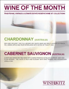 Wines of the Month - February 2011