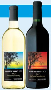Wine Kitz Italian Coastal Sunset 2011 wine kits