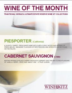 Wines of the Month - April 2011