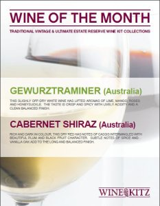 Wines of the Month - May 2011