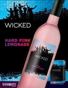 Wicked hard pink lemonade