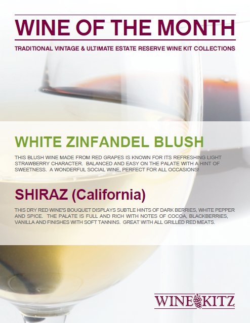 September 2011 Wines of the Month