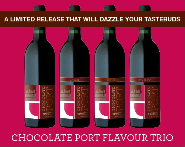 Wine Kitz Chocolate Port Trio Limited Release