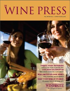 Wine Kitz Wine Press - Fall Winter 2011