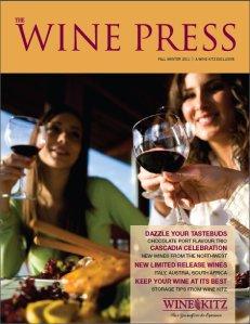 Wine Kitz Wine Press - Fall Winter 2011