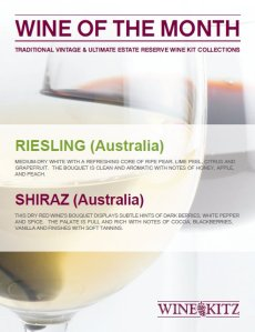 Wine Kitz Pickering November 2011 Wines of the Month