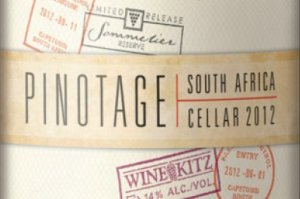Wine Cellar 2012 - South African Pinotage