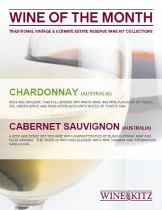 Wines of the Month - January 2012