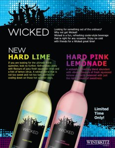 Wine Kitz Pickering Wicked Hard Lemonade