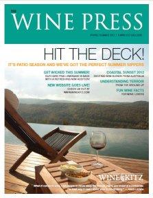 Wine Press Spring Summer 2012