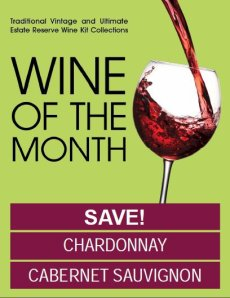 April 2012 Wine Kitz Wines of the Month