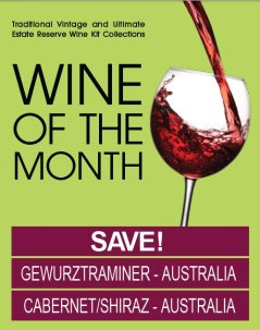 Wines of the Month - May 2012