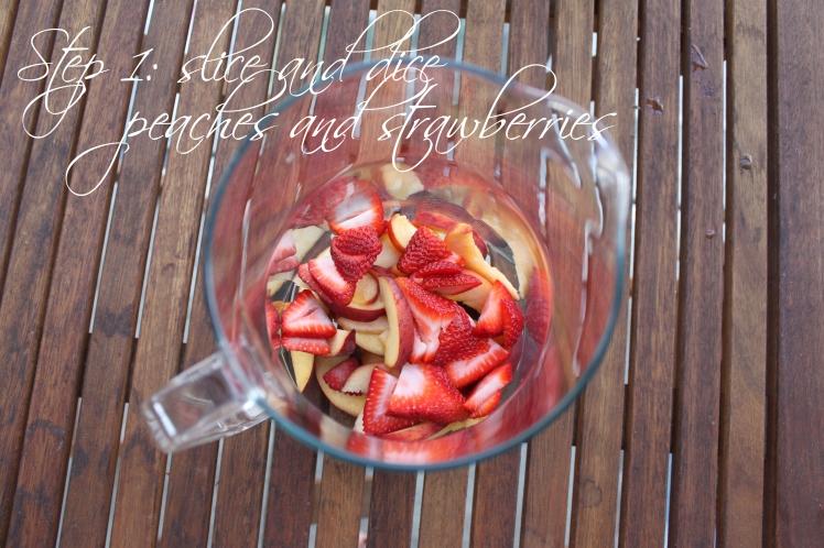 Strawberry Peach Colombard Chardonnay 2