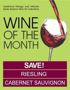 Wine Kitz Wines of the Month - July 2012