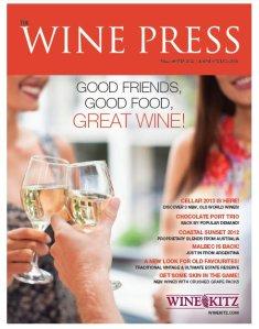 Wine Press - Fall Winter2012