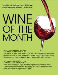 Wine Kitz wines of the month - August 2012