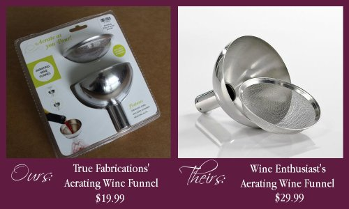 Aerating Wine Funnel