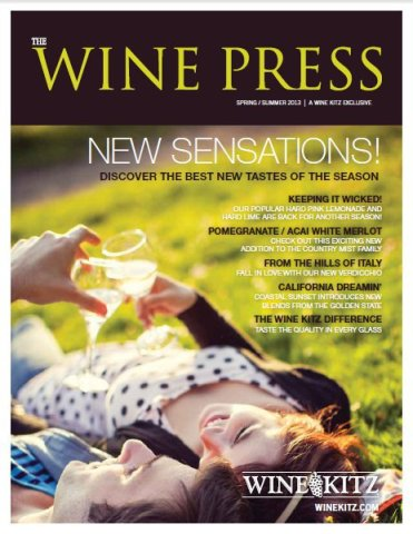 Wine Press - spring summer 2013