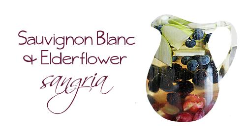 130622 - sauvignon blanc & elderflower