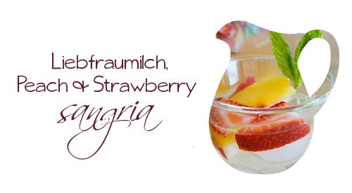 130629 - liebfraumilch & peach strawberry