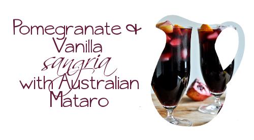 130824 - pomegranata vanilla with aussie mataro