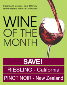 July 2014 Wines of the Month