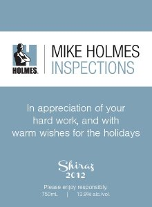 custom label - Mike Holmes