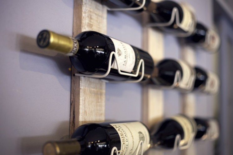 storing wine bottles on their side - Wine Kitz Pickering